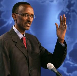 Paul Kagame - President of Rwanda